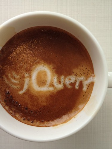 Today's latte, jQuery. | by yukop
