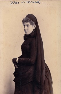 Ella Blanchard Howard in Mourning, Albumen Carte de Visite, 1886 | by lisby1