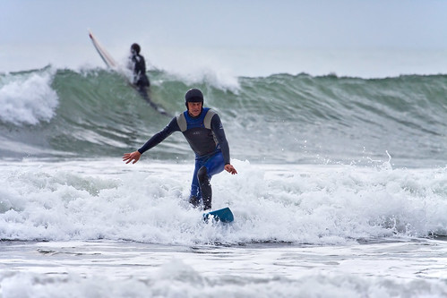 surfing the ohope beach break | by dcysurfer / Dave Young