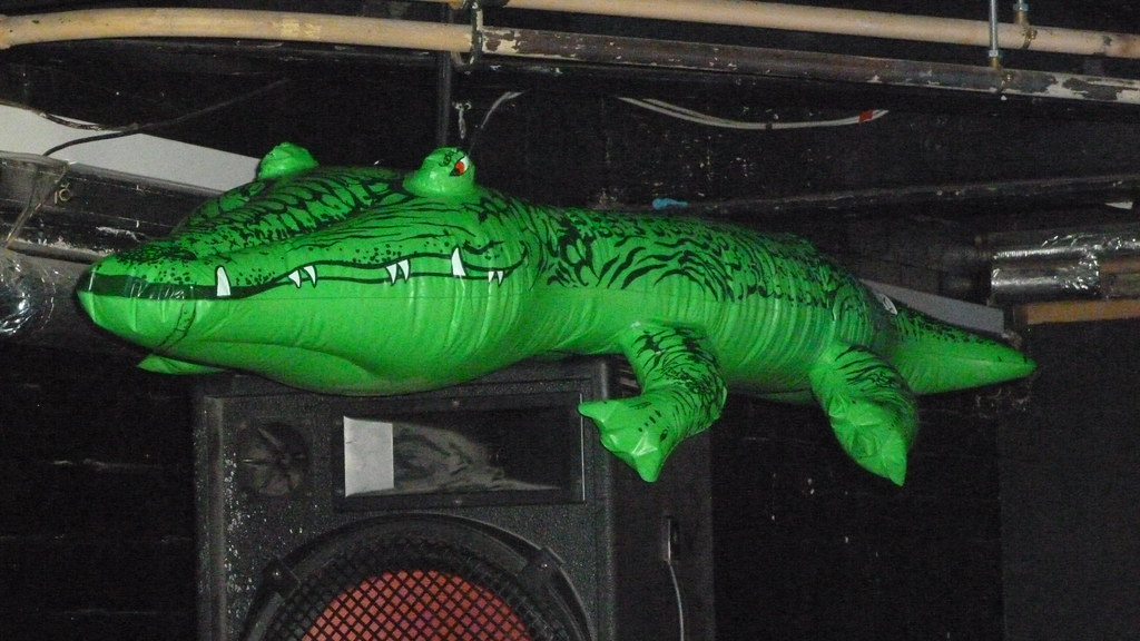 Inflatable Crocodile | By Rubber Rat Productions Inflatable Crocodile | By  Rubber Rat Productions