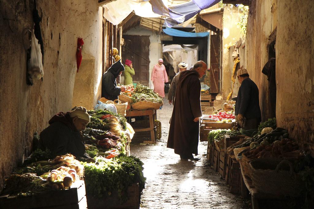 Dans la Médina, la vieille ville de Fès - Photo de Pablo Pecora