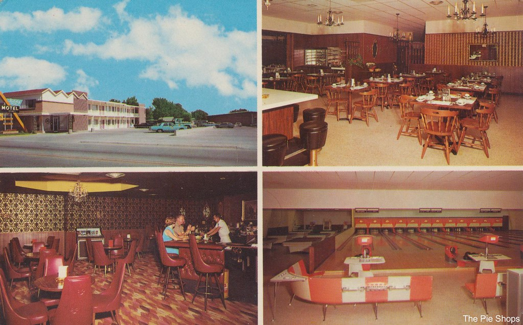 Holiday Motor Lodge and Holiday Lanes - Kimball, Nebraska
