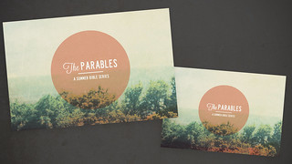 The Parables Postcards | by Megan Watson Design