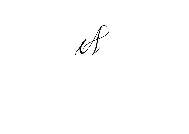 Calligraphie Tatouage Lettre A S C N G M E V Calligraphie Flickr