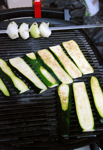 Grilling Onions and Zucchini | by kimberley blue