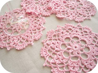 pink doily | by ♥ Ana's Place ♥