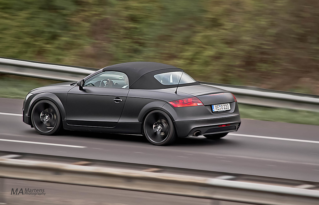 Audi TT Roadster Matt Black If You Like My Pictures And Yo Flickr - Used audi tt convertible