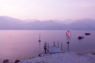 Lago di Garda - Pink sunset | by luigig75
