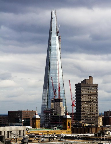 The Shard, nearly built - London | by chrisjohnbeckett