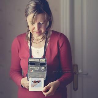 "Cámara ""hecha a mano"" (Polaroid)"