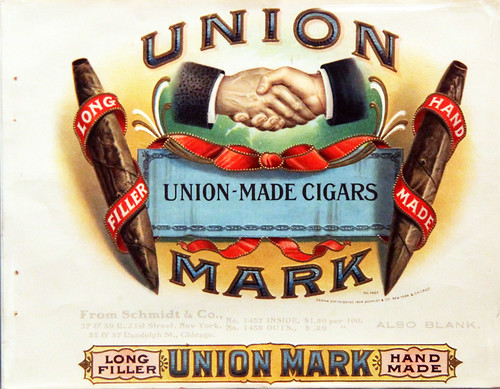 Union-made cigar advertisement - Smithsonian Museum of American History - 2012-05-15 | by Tim Evanson