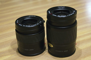 Minolta Maxxum Kit lenses | by Marty4650