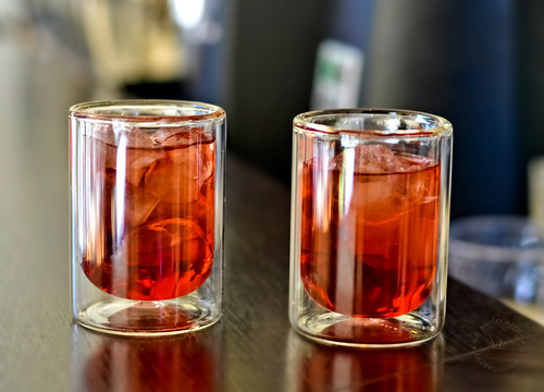 ~ Hibiscus Iced Tea at Cafe Demitasse | by r.e. ~