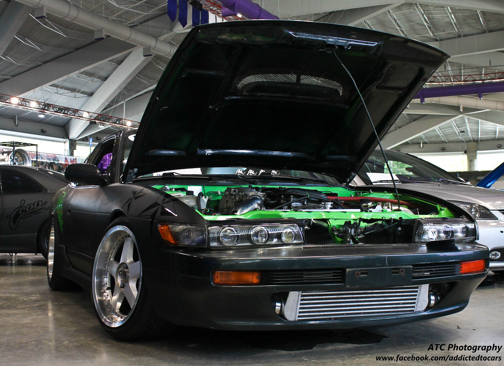 Stanced 240sx S13 Hatch