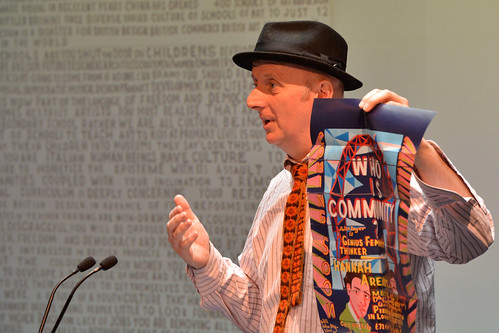 Bob and Roberta Smith speaking at the ROH Bridge Culture Counts conference © ROH / Brian Slater | by Royal Opera House Covent Garden