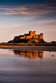 Bamburgh reflections | by Jonathan Combe (Thank you for 400,000 views!)