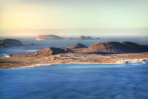 Sunset over the Islands. Lanzarote | by annabulka