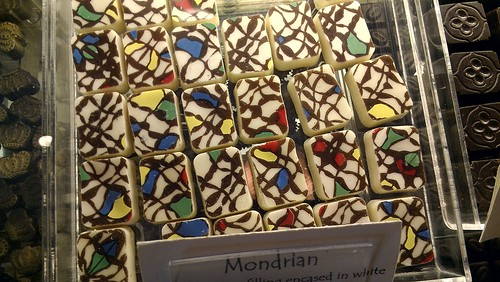 Mondrian chocolates | by cakespy