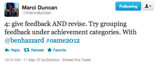 OAME2012 | by benhazzard (learning together)