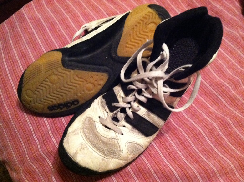 Kendall Cross Adidas Adistars wrestling shoes in size 8 | Flickr