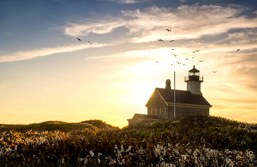North Light House at Sunset | by Photos by Elyssa