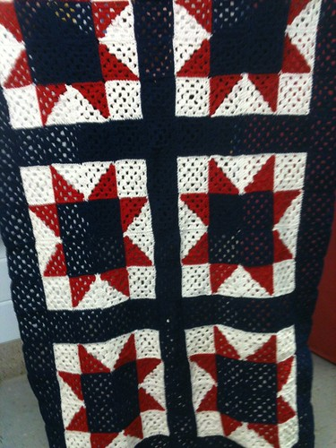 All American Crochet Afghan Pattern Free : All American Granny Square Afghan Pattern from www ...