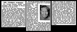 6th March 1961 - Death of George Formby | by Bradford Timeline