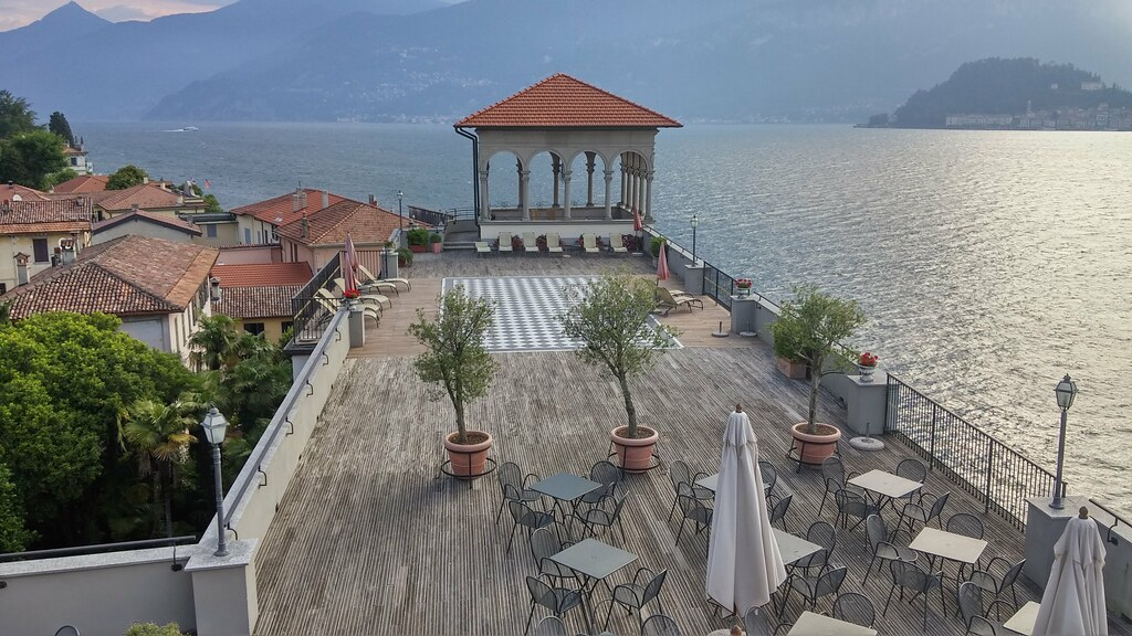 Grand Hotel Cadenabbia Lake Como 4th Floor Bar Outdo Flickr