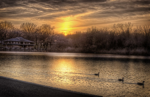 Sunset on Woodcliff Lake | by LennyNJ
