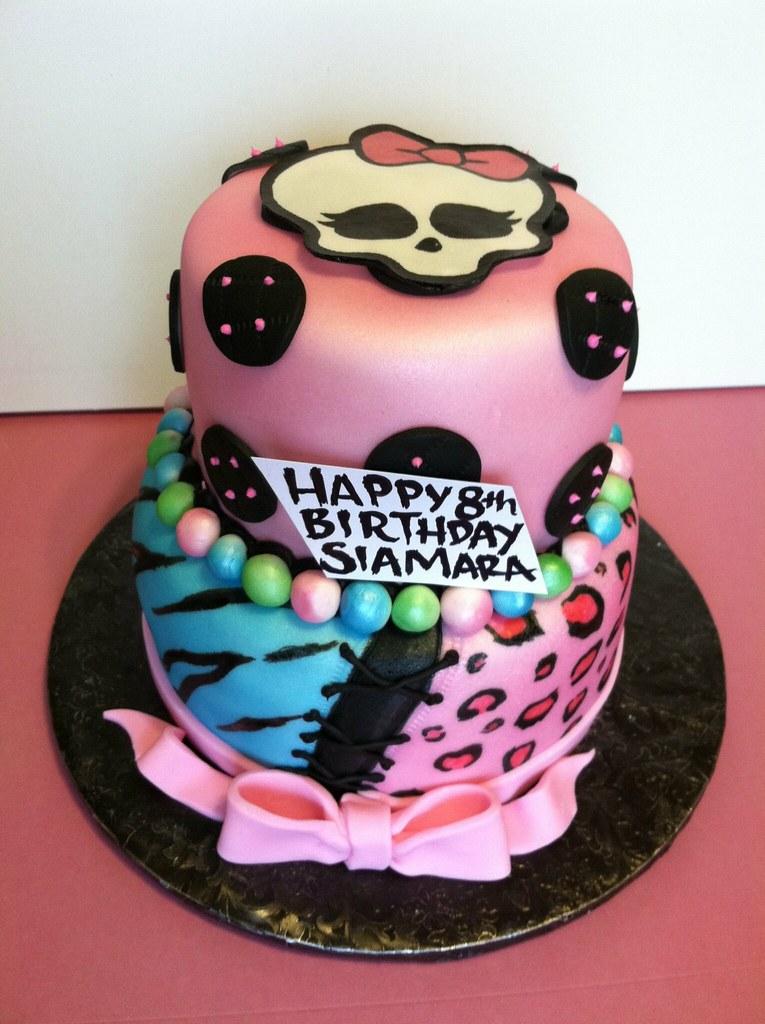 Monster High Birthday Cake Gaspar Rodriguez Flickr