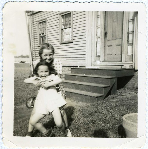 Snapshot: Mary Louise And Friend, Boston, 1940's [My Afternoon With Mary Louise] | by mrwaterslide
