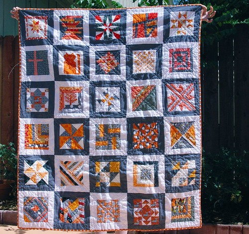 Row Robin Quilt - FINISHED! | by house of bad cats