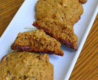 Gluten-Free Chocolate Chip Cookies, interior | by sherimiya ♥