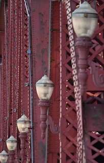 bridge lamps --- Broadway Bridge, Portland | by pdxpointer