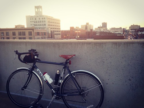 Downtown with the Springfield Sunrise Coffee & Bicycle Club