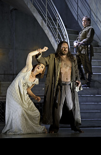 Angela Denoke as Salome and Johan Reuteras as Jokanaan  in Salome © Clive Barda/ROH 2009 | by Royal Opera House Covent Garden