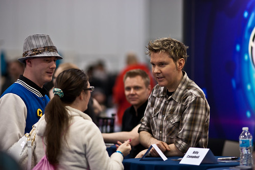 Victor Lucas of EP Daily/Reviews on the Run @Fan Expo Vancouver 2012 | by trainerKEN.