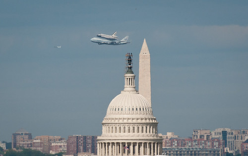 Space Shuttle Discovery DC Fly-Over (201204170045HQ) | by NASA HQ PHOTO