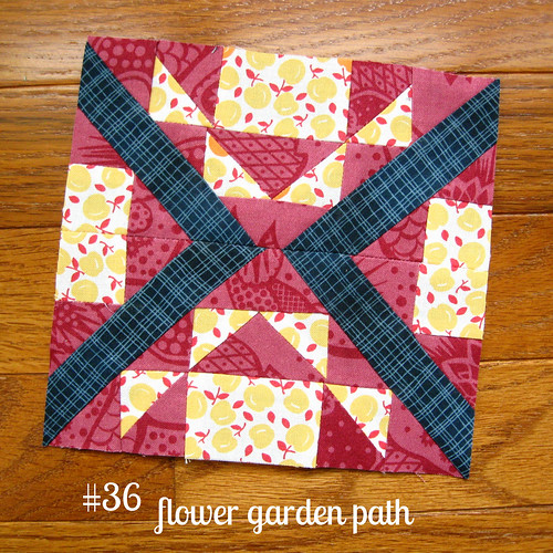 farmer's wife sampler, block 36 | by quirky granola girl