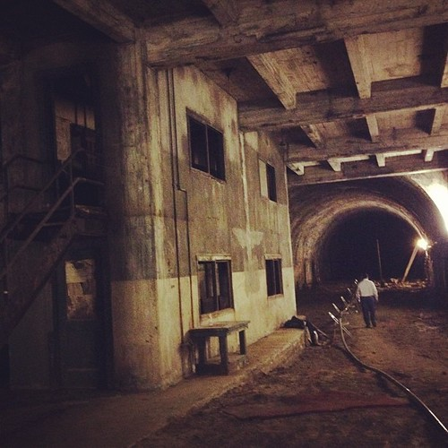 Yes, this is LA. In the former Pacific Electric Railway tunnel under the Subway Terminal Building downtown. | by A Walker in LA