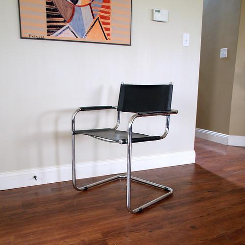 Bauhaus Style Chair Vintage Mid Century Modern Furniture C
