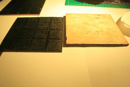 Detalle contrachapado de madera imprimaci n negra flickr - Contrachapado de madera ...