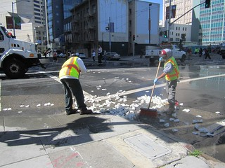 2012 Bay to Breakers Cleanup | by San Francisco Public Works