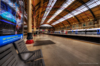 Train to anywhere - departing London on track 1 | by MDSimages.com