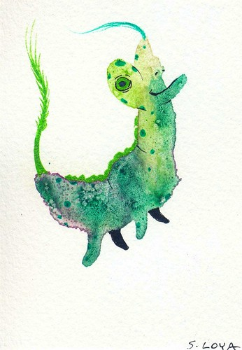 Splotch Monster 966 | by steve loya