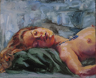 Female Nude -Melissa Grimes oil painting | by meli66a