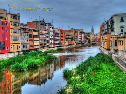 Onyar River, Girona | by Danny~F