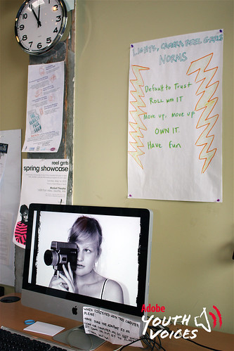 Reel Grrls Work Station | by Adobe Youth Voices