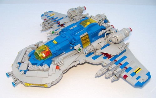 LEGO - Neo Classic - Defender X-21 | by Slayerdread