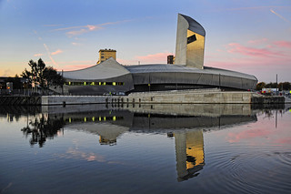 UK - Manchester - Salford - IWM North Sunrise | by Darrell Godliman
